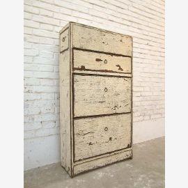 Vaisselier tiroirs de la commode couloir de cireur shabby chic pin altweiße