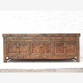 Chine Shanxi puissante Buffet 1,815 2.5 long de l'orme Antique