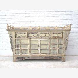 Shanxi 1,760 large autel armoire rareté craie orme