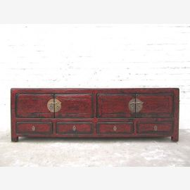 Chine TV Lowboard commode classique marron agricole Terminer