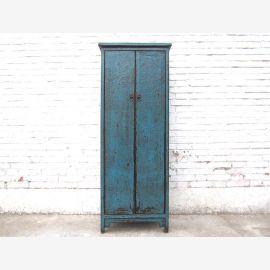 Chine armoire haute commode petite armoire cyan optique lourd