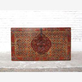 Cat Hygiène magnifique poitrine Tibet peinture antique Trois dapartments intérieures seulement par le parc de luxe