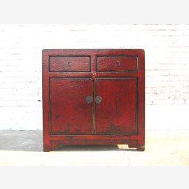 litière de chat dans une commode antique colonial regard marron utilisé seulement par la Chine optique Luxe Parc
