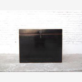 Chine Katzenklosett poitrine style colonial laque noire montage uniquement par le parc de luxe en métal