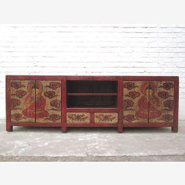 litière de chat dans Lowboard Tibet entrée de peinture antique des deux côtés seulement par le parc de luxe