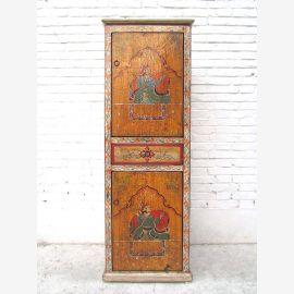 Tibet Armoire commode antique de 70 ans Cadeau