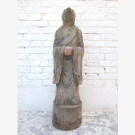 Sculpture rat Chine astrologique statue de la figure de peuplier bouddhiste de 80 ans du parc de luxe