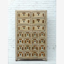 Chine grande armoire à pharmacie 22 pin tiroirs